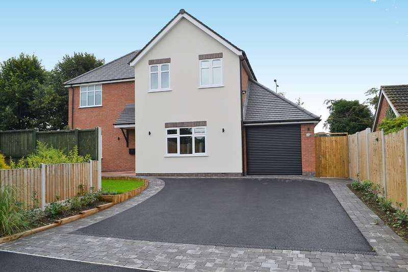 4 Bedrooms Detached House for sale in Micklehome Drive, Alrewas