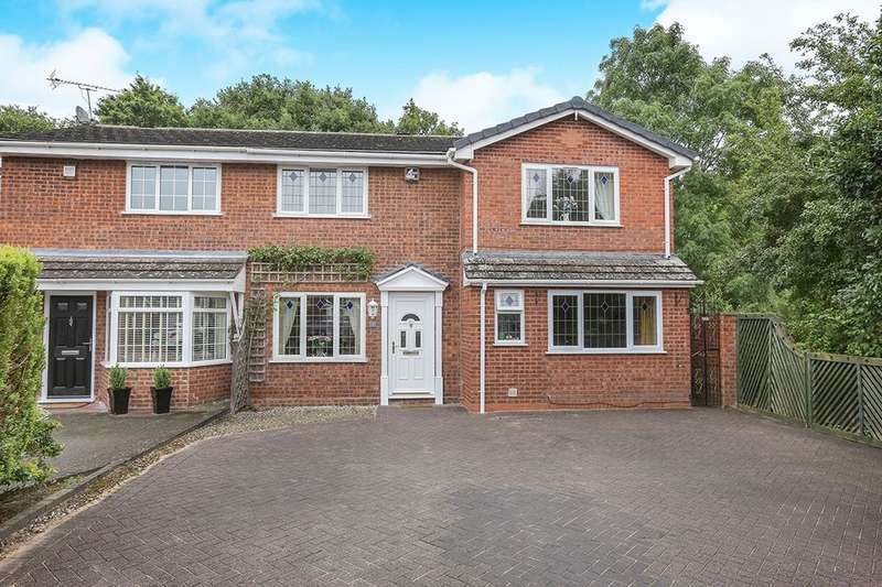 4 Bedrooms Semi Detached House for sale in Cocton Close, Wolverhampton, WV6