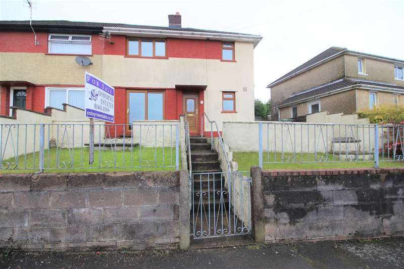 3 Bedrooms Semi Detached House for sale in Heol-Y-Grug, Hendreforgan, Porth