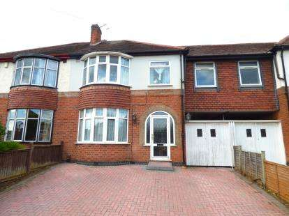 5 Bedrooms Semi Detached House for sale in Aberdale Road, Leicester