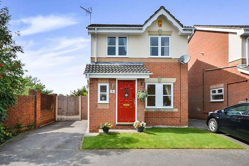 3 Bedrooms Detached House for sale in Carr Grove, Kirkby-In-Ashfield, Nottingham, NG17
