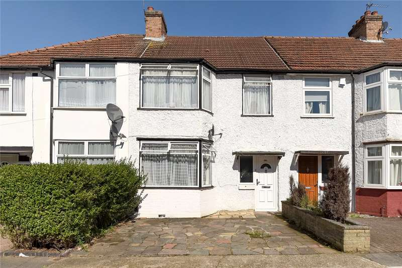 3 Bedrooms Terraced House for sale in Byron Road, Wealdstone, Harrow, Middlesex, HA3