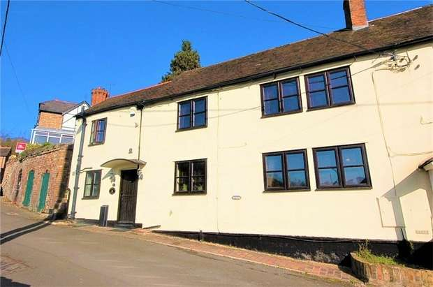 2 Bedrooms End Of Terrace House for sale in 47 Church Hill, Ironbridge, Shropshire
