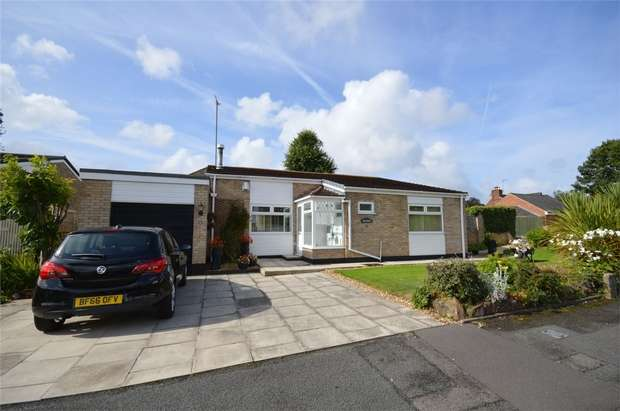 3 Bedrooms Detached Bungalow for sale in Oakridge Close, Spital, Merseyside
