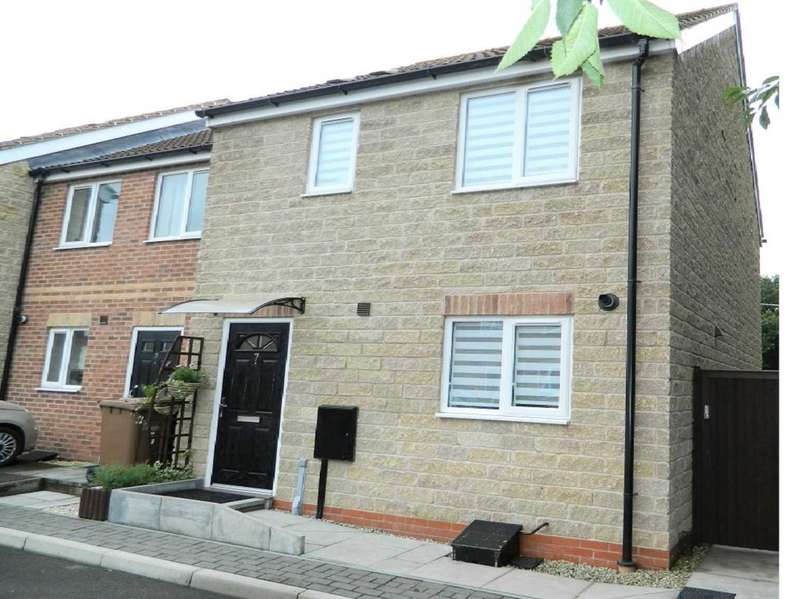 3 Bedrooms Town House for sale in Ivy Wood Close, Lincoln