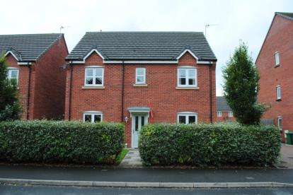 4 Bedrooms Detached House for sale in Rylands Drive, Warrington, Cheshire, WA2