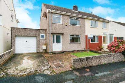 3 Bedrooms Semi Detached House for sale in Plymstock, Elburton, Plymouth