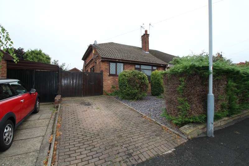 2 Bedrooms Semi Detached Bungalow for sale in Kent Road, Giltbrook, Nottingham, NG16