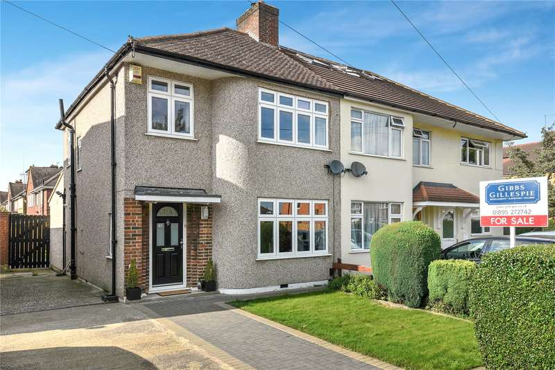 3 Bedrooms Semi Detached House for sale in Long Drive, South Ruislip, Middlesex, HA4