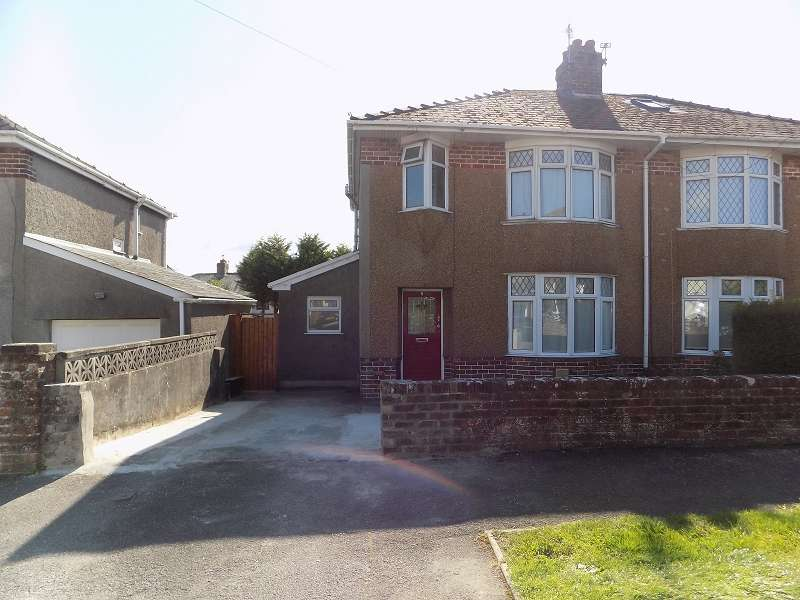 3 Bedrooms Semi Detached House for sale in Priory Close, Bridgend. CF31 3LW