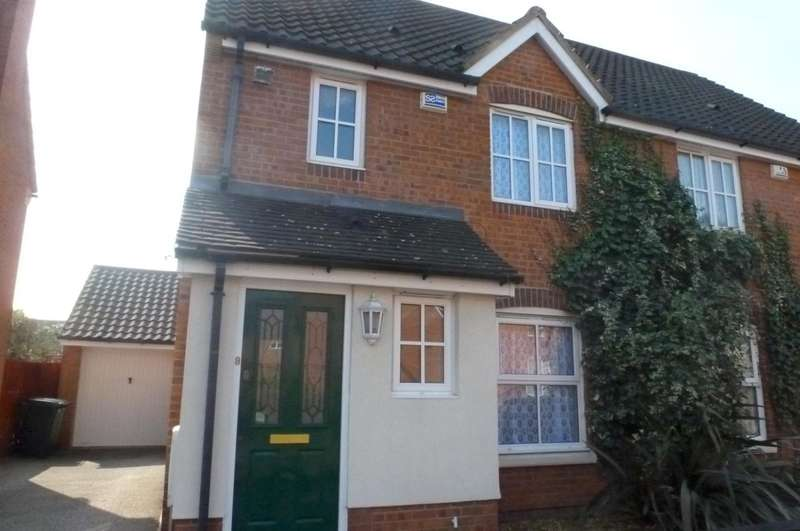 3 Bedrooms Semi Detached House for rent in Wood Avens Way, Wymondham