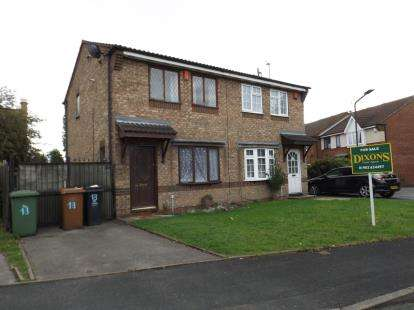 2 Bedrooms Semi Detached House for sale in Ravensbourne Grove, Willenhall, West Midlands