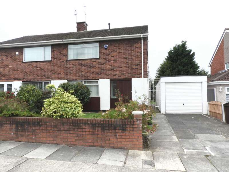 3 Bedrooms Semi Detached House for sale in Church Way, Old Hall Estate,Kirkby