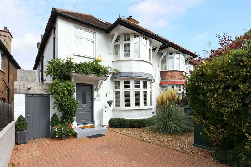 4 Bedrooms Semi Detached House for sale in Elm Crescent, Ealing, W5