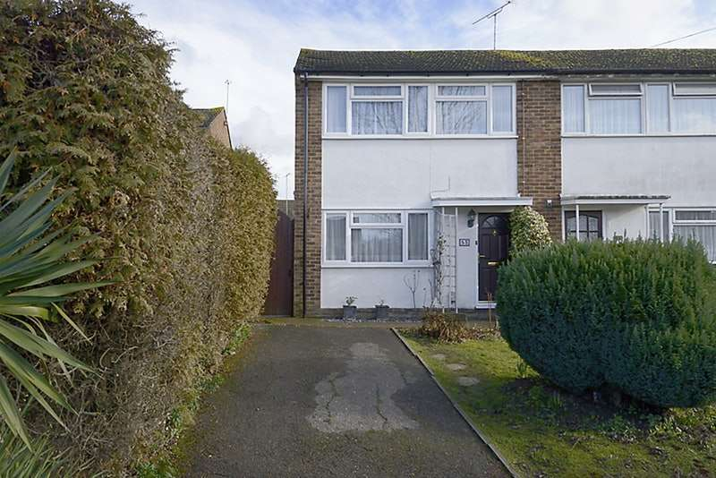 3 Bedrooms End Of Terrace House for sale in Southwood Avenue, Woking, Surrey, GU21