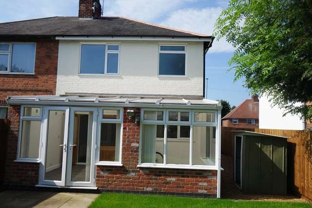 3 Bedrooms Semi Detached House for sale in Aylestone Lane LE18 1AB