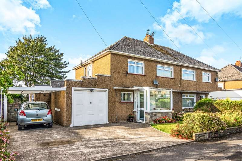 3 Bedrooms Semi Detached House for sale in Dyffryn Place, Barry