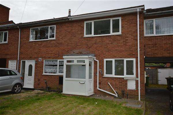 2 Bedrooms Terraced House for sale in Oatmill Close, Wednesbury