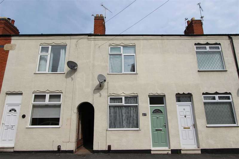 2 Bedrooms Terraced House for sale in Woodgon Road, Anstey, Leicester