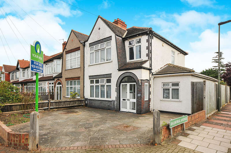 4 Bedrooms Semi Detached House for sale in Upper Elmers End Road, Beckenham, BR3
