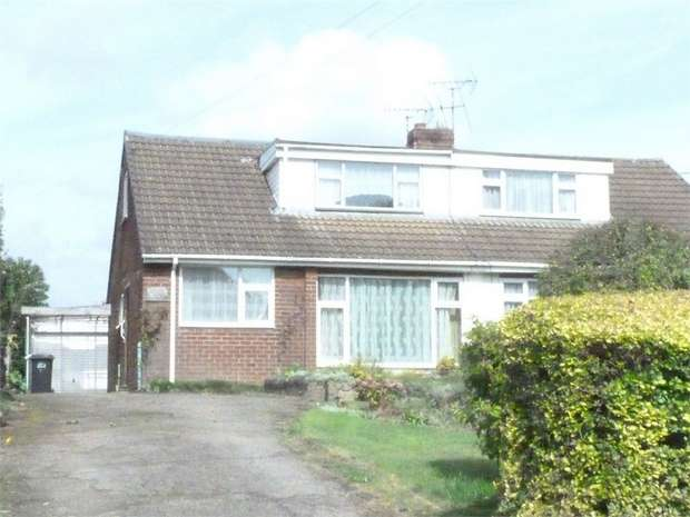3 Bedrooms Semi Detached Bungalow for sale in Claybrooke Magna