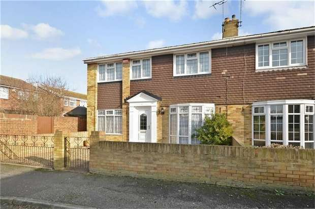 4 Bedrooms Semi Detached House for sale in Briary Close, Margate, Kent