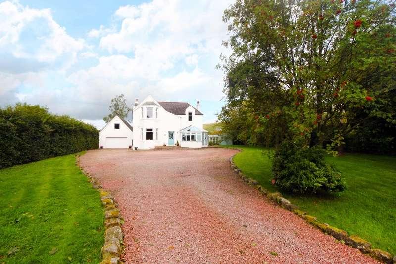 4 Bedrooms Detached Villa House for sale in Steelend Road, Saline, Dunfermline, KY12 9LT