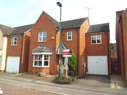 4 Bedrooms Detached House for sale in Tom Blower Close, Wollaton, Nottingham, Nottinghamshire