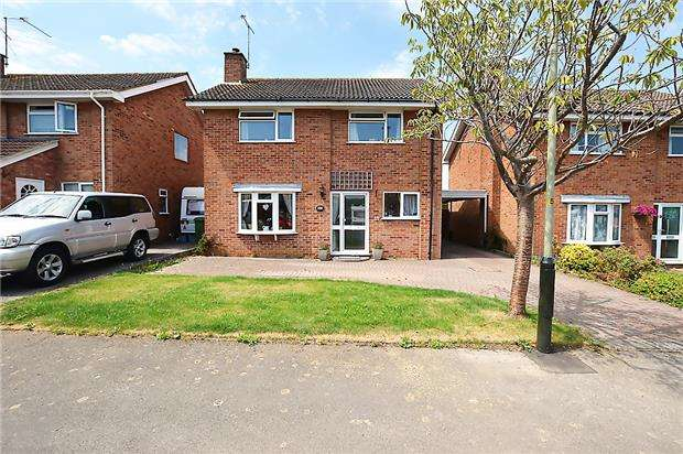 4 Bedrooms Detached House for sale in Hillary Road, CHELTENHAM, Gloucestershire, GL53 9LB