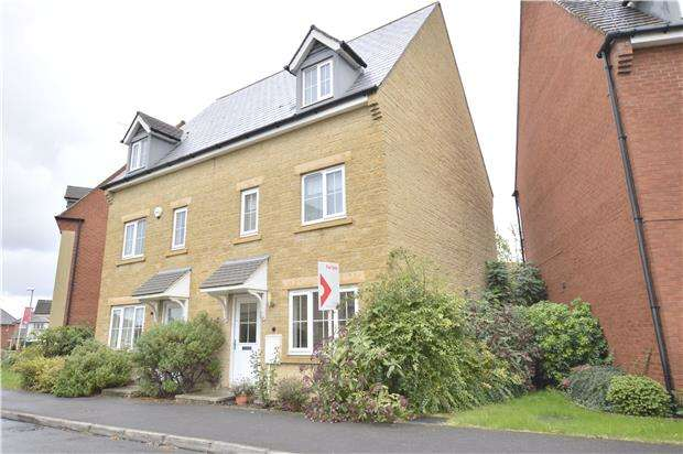 3 Bedrooms Semi Detached House for sale in Greenacre Way, Bishops Cleeve, GL52