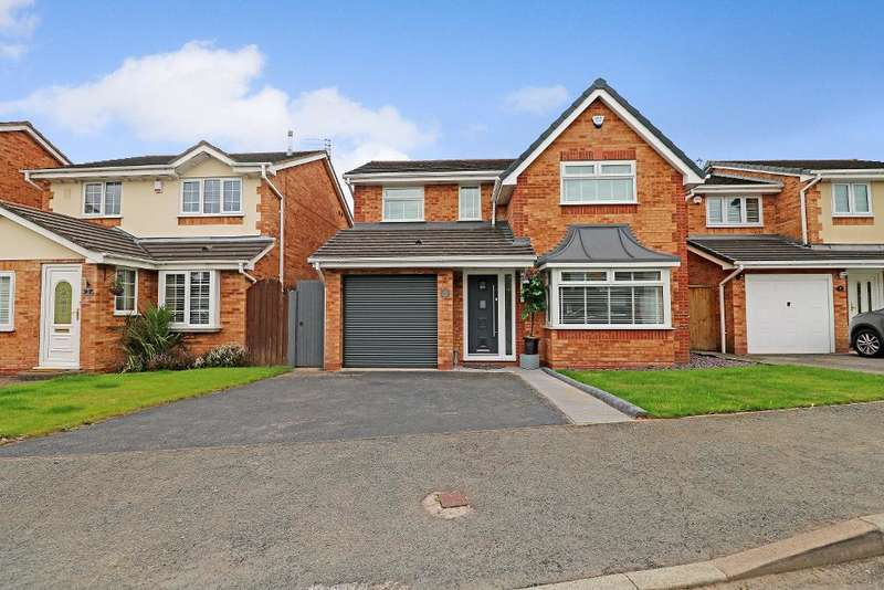 4 Bedrooms Detached House for sale in Catkin Road, Halewood, Liverpool, L26 7XJ