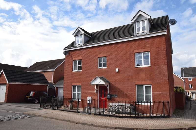 5 Bedrooms Detached House for sale in Watkins Square, Llanishen, Cardiff. CF14 5FL