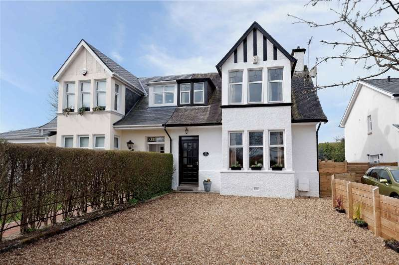 3 Bedrooms Semi Detached House for sale in Albert Road, Brookfield, Renfrewshire, PA5 8UE