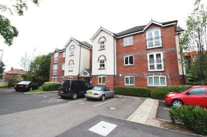 2 Bedrooms Flat for sale in Keswick Court, 4 Downes Way, Manchester, Greater Manchester