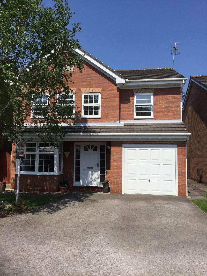 4 Bedrooms Detached House for sale in Tensing Close, Great Sankey, Warrington, Cheshire, WA5 8FN