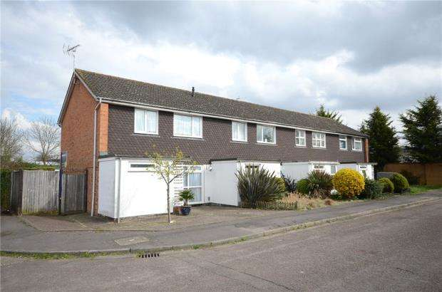 3 Bedrooms End Of Terrace House for sale in Sherbourne Drive, Woodley, Reading