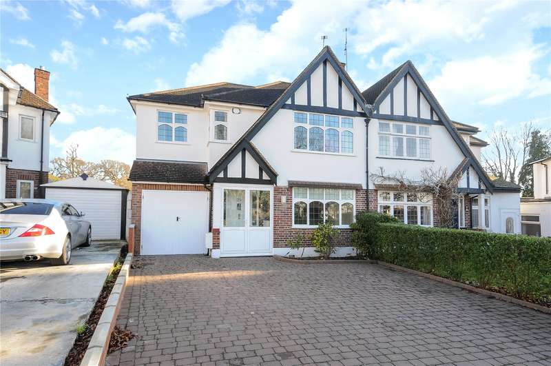 5 Bedrooms Semi Detached House for sale in The Lawns, Hatch End, Middlesex, HA5