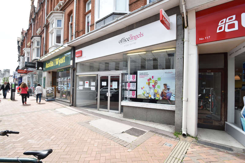 Shop Commercial for rent in 115 Old Christchurch Road, Bournemouth, Dorset BH1 1EP