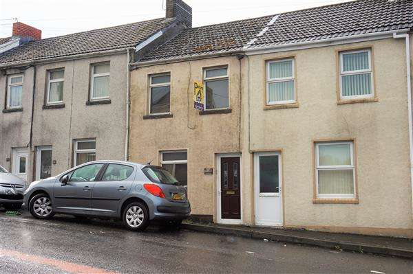 2 Bedrooms Terraced House for sale in High Street, TUMBLE, Llanelli