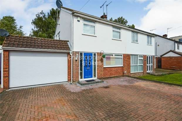 3 Bedrooms Semi Detached House for sale in Shalcross Drive, Cheshunt, Hertfordshire