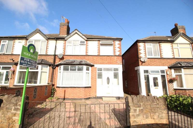 3 Bedrooms Semi Detached House for sale in Chadwick Road, Nottingham, NG7