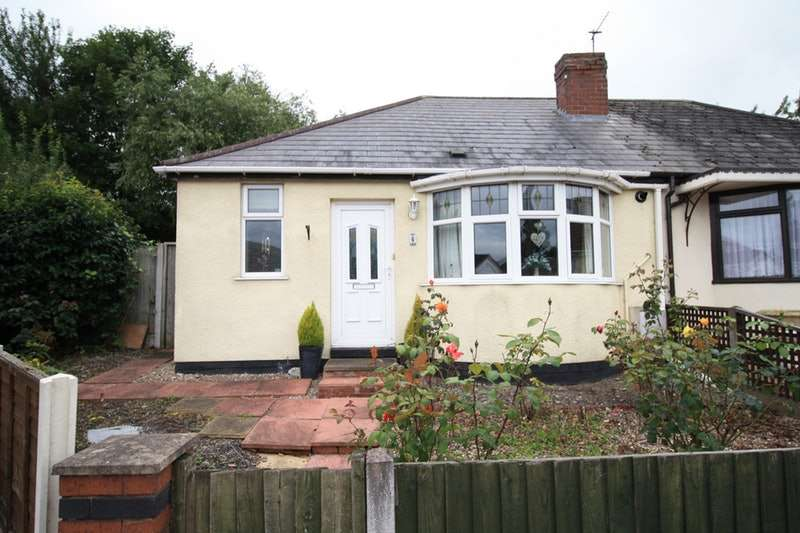 1 Bedroom Bungalow for sale in Moorcroft, Bilston, West Midlands, WV14
