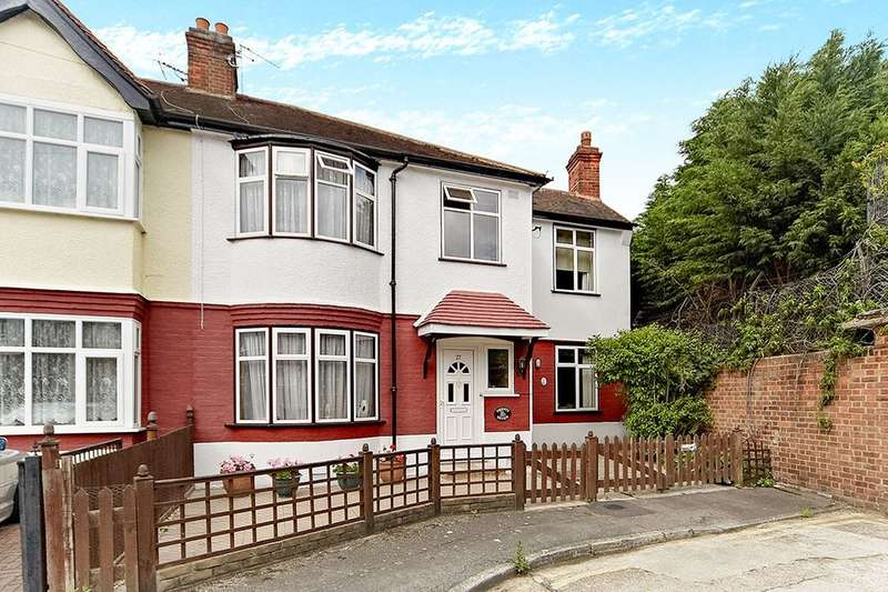 4 Bedrooms Semi Detached House for sale in Queen Annes Gardens, Mitcham, CR4
