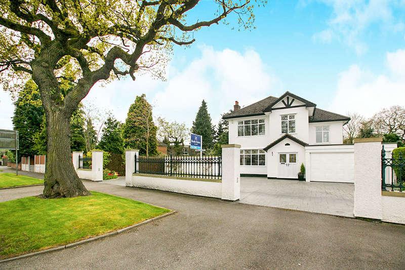 4 Bedrooms Detached House for sale in Pen Lee Jacksons Lane, Hazel Grove, Stockport, SK7