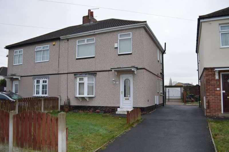 3 Bedrooms Semi Detached House for rent in Brampton Street, Brampton, Barnsley, S73