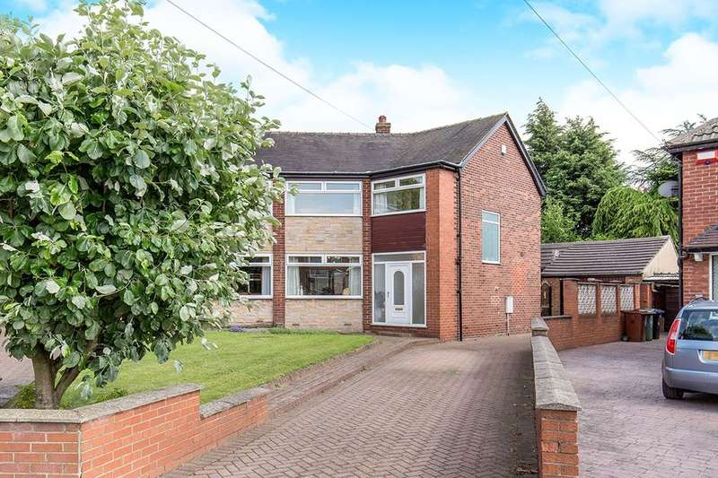 4 Bedrooms Semi Detached House for sale in Brunswick Gardens, Garforth, Leeds, LS25
