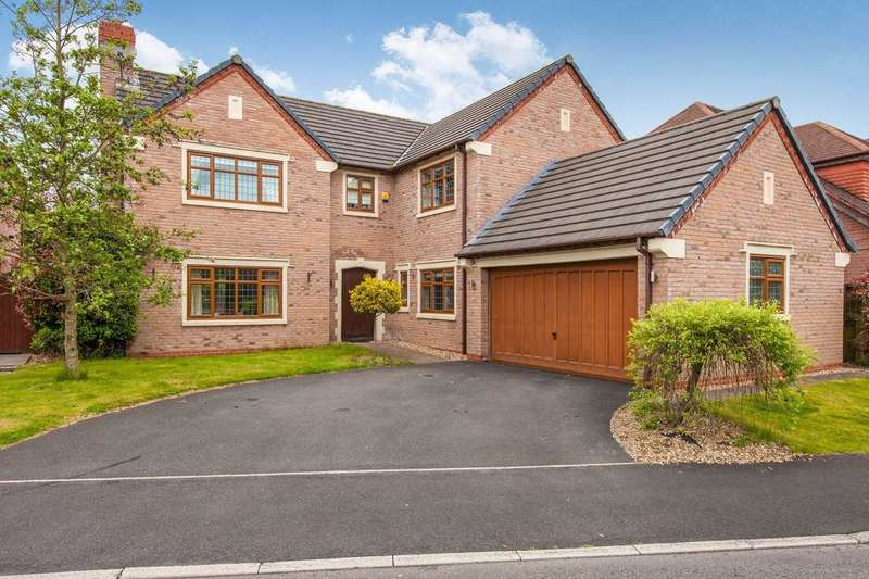5 Bedrooms Detached House for sale in Carbis Avenue, Grimsargh, Preston, PR2