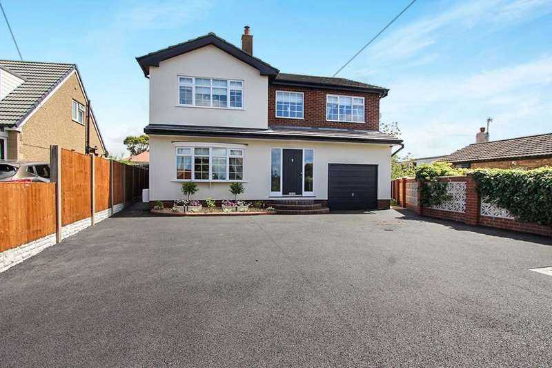 4 Bedrooms Detached House for sale in Lancaster Road, Cabus, Preston, PR3
