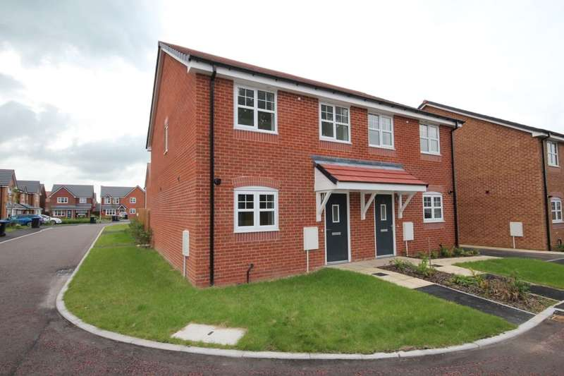 3 Bedrooms Semi Detached House for sale in Lapwing Close, Claughton-On-Brock, Preston, PR3