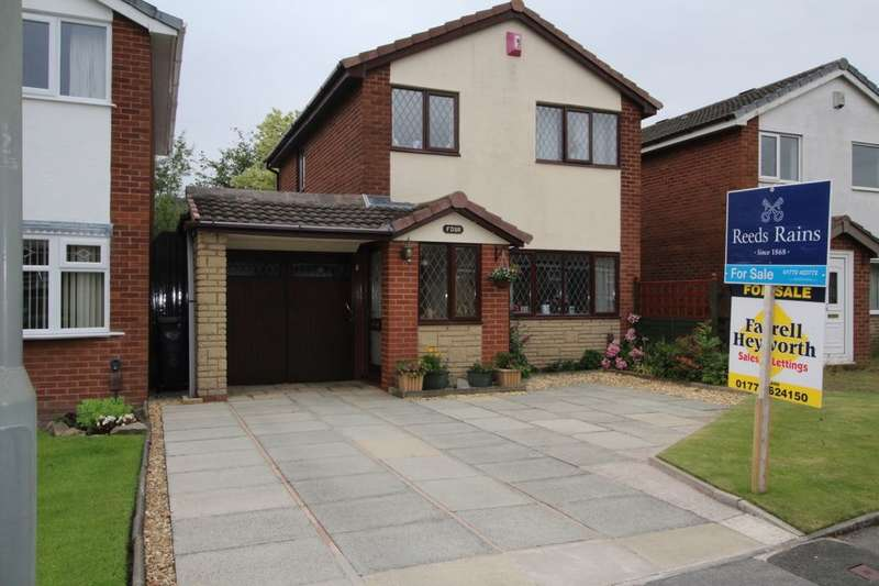 3 Bedrooms Detached House for sale in Hornby Croft, Leyland, PR26